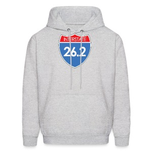 Interstate 26.2 - Men's Hoodie