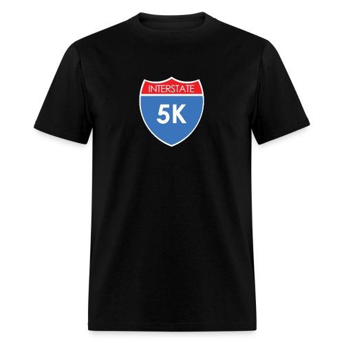 Interstate 5K - Men's T-Shirt