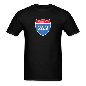 Interstate 26.2 - Men's T-Shirt