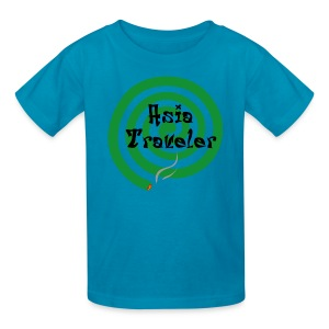 Asia Traveler - Kids' T-Shirt