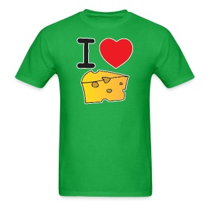 I Heart Cheese - Men's T-Shirt