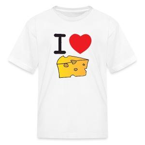 I Heart Cheese - Kids' T-Shirt