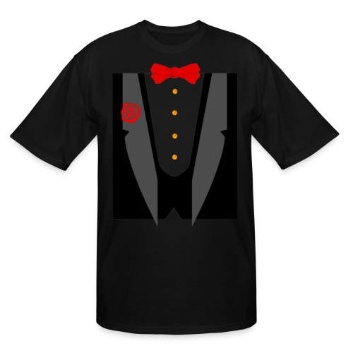 Tux and Tie - Men's Tall T-Shirt