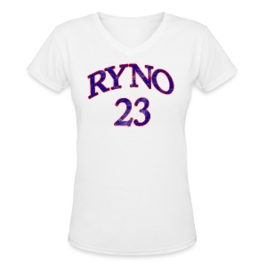 Ryno 23 - Women's V-Neck T-Shirt