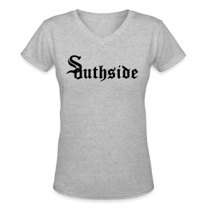 Southside - Women's V-Neck T-Shirt