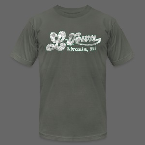 L-Town Livonia Men's American Apparel Tee - Men's T-Shirt by American Apparel