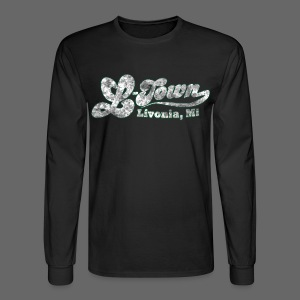 L-Town Livonia Men's Long Sleeve Tee - Men's Long Sleeve T-Shirt