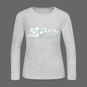 L-Town Livonia Women's Long Sleeve Jersey Tee - Women's Long Sleeve Jersey T-Shirt