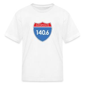 Interstate 140.6 - Kids' T-Shirt