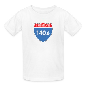 Interstate 140.6 - Kids' T-Shirt