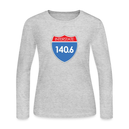 Interstate 140.6 - Women's Long Sleeve Jersey T-Shirt