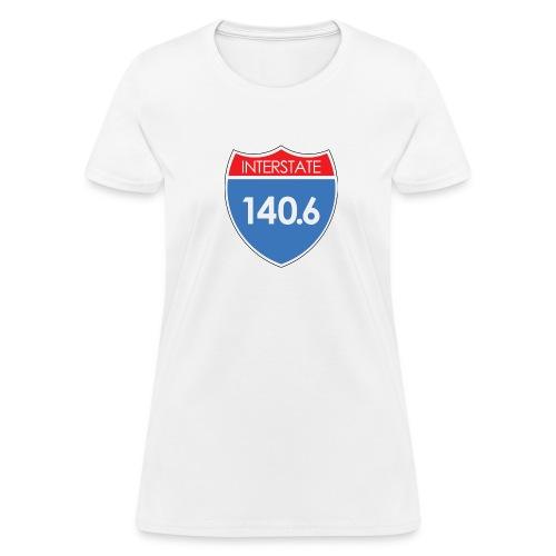 Interstate 140.6 - Women's T-Shirt