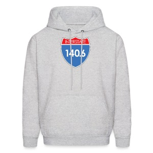 Interstate 140.6 - Men's Hoodie