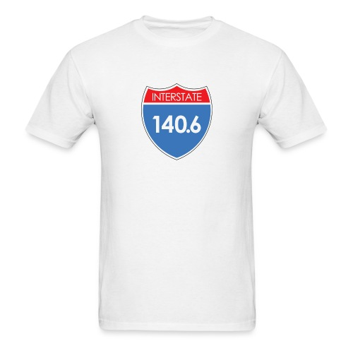 Interstate 140.6 - Men's T-Shirt