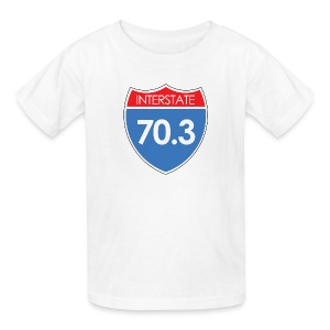 Interstate 70.3 - Kids' T-Shirt