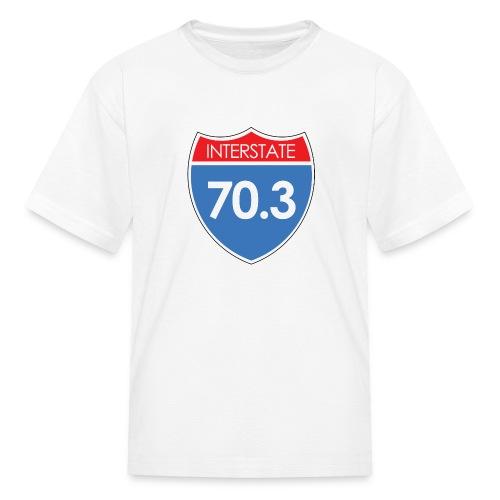 Interstate 70.3 - Kids' T-Shirt