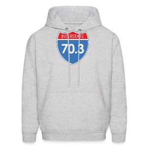 Interstate 70.3 - Men's Hoodie