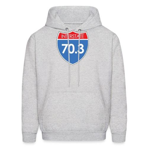 Interstate 70.3 - Men's Hoodie