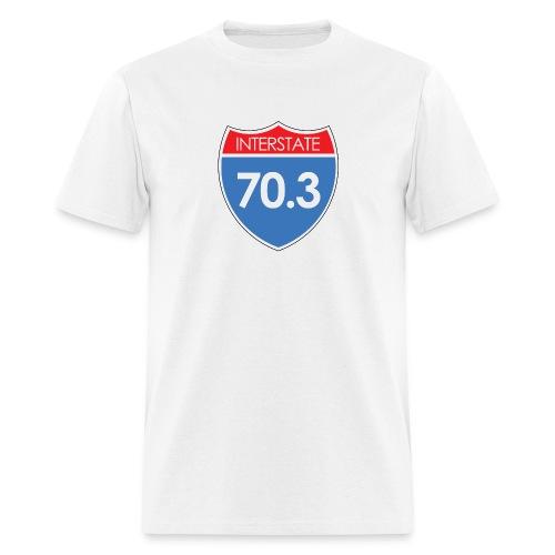 Interstate 70.3 - Men's T-Shirt