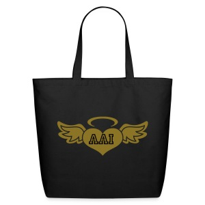 Angel Heart Wings - Eco-Friendly Cotton Tote