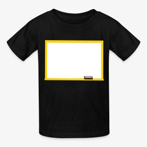 YellowIbis.com 'Academic One Liners' Kids T: Writable whiteboard (Color Choice) - Kids' T-Shirt