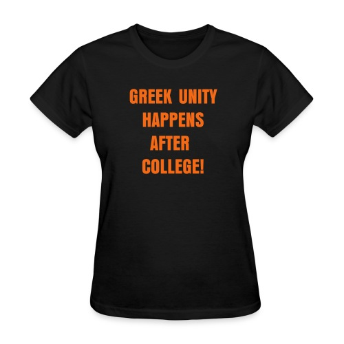 Women's Greek Unity Shirt - Women's T-Shirt