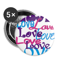 Buttons ~ Large Buttons ~ Love, Love, Love