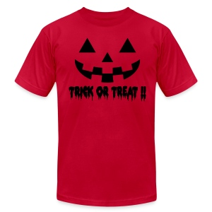 Trick or treat!! - Men's T-Shirt by American Apparel