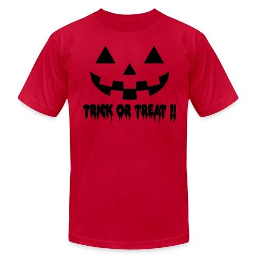 Trick or treat!! - Men's Fine Jersey T-Shirt