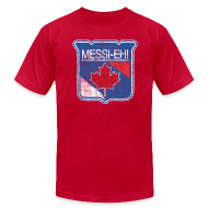 T-Shirts ~ Men's T-Shirt by American Apparel ~ Messi-eh!