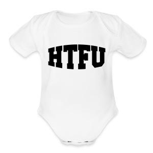 HTFU Bulging - Short Sleeve Baby Bodysuit