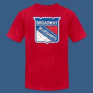 Broadway Blueshirts - Men's T-Shirt by American Apparel