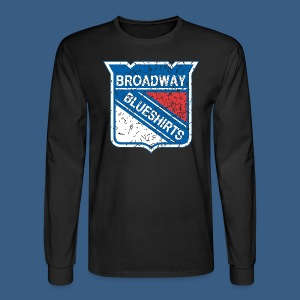 Broadway Blueshirts - Men's Long Sleeve T-Shirt