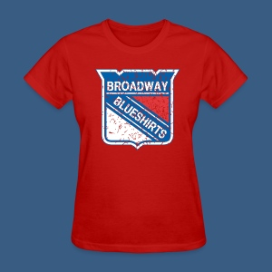 Broadway Blueshirts - Women's T-Shirt