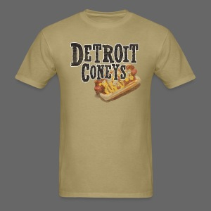 Detroit Coneys Men's Standard Weight T-Shirt - Men's T-Shirt