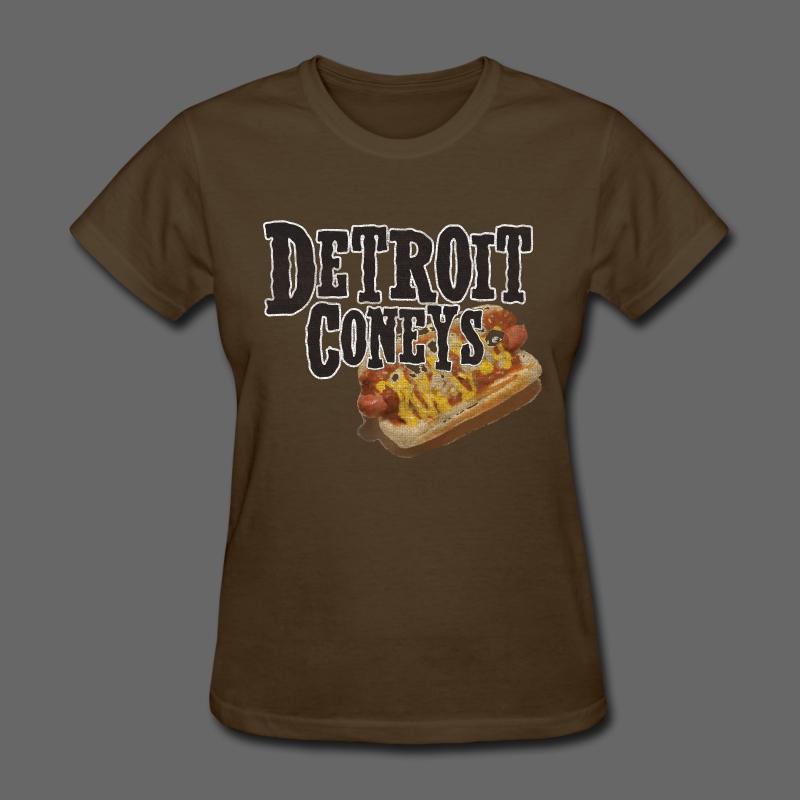 Detroit Coneys Women's Standard Weight T-Shirt - Women's T-Shirt