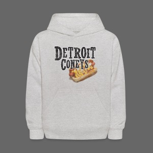 Detroit Coneys Kid's Hooded Sweatshirt - Kids' Hoodie