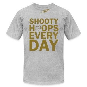 SHOOTY HOOPS - Men's Fine Jersey T-Shirt