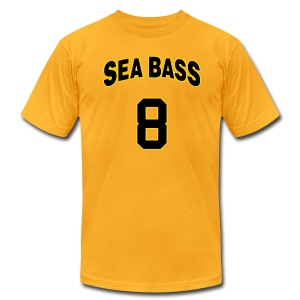 Sea Bass 8 - Men's T-Shirt by American Apparel