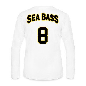Sea Bass 8 - Women's Long Sleeve Jersey T-Shirt