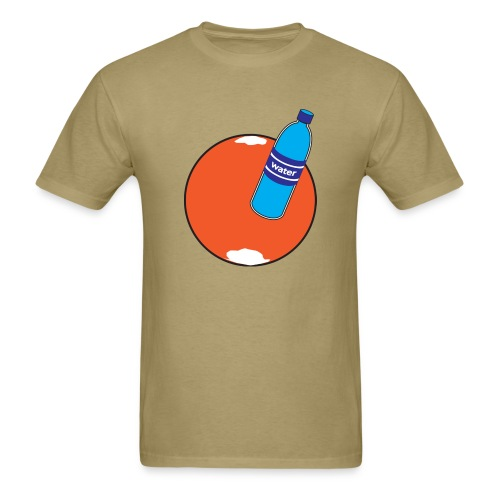 Water on Mars - Men's T-Shirt