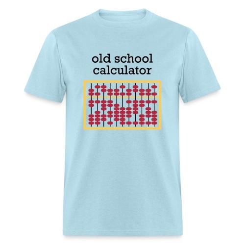 Old School Caclulator (abacus) - Men's T-Shirt