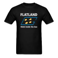 T-Shirts ~ Men's T-Shirt ~ Flatland