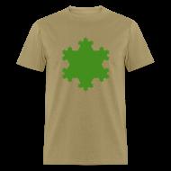 T-Shirts ~ Men's T-Shirt ~ Koch Snowflake