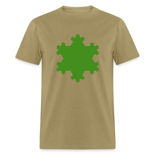 Koch Snowflake - Men's T-Shirt