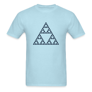 T-Shirts ~ Men's T-Shirt ~ Pascal's Triangle (fractal)