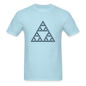 Pascal's Triangle (fractal) - Men's T-Shirt