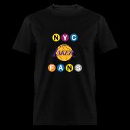T-Shirts ~ Men's T-Shirt ~ mens subway black tshirt