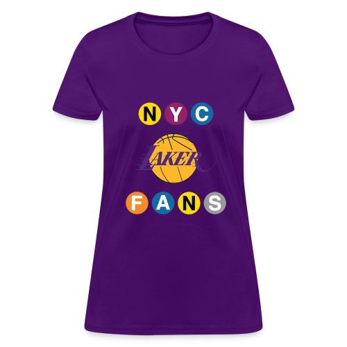 womens subway purple tshirt - Women's T-Shirt