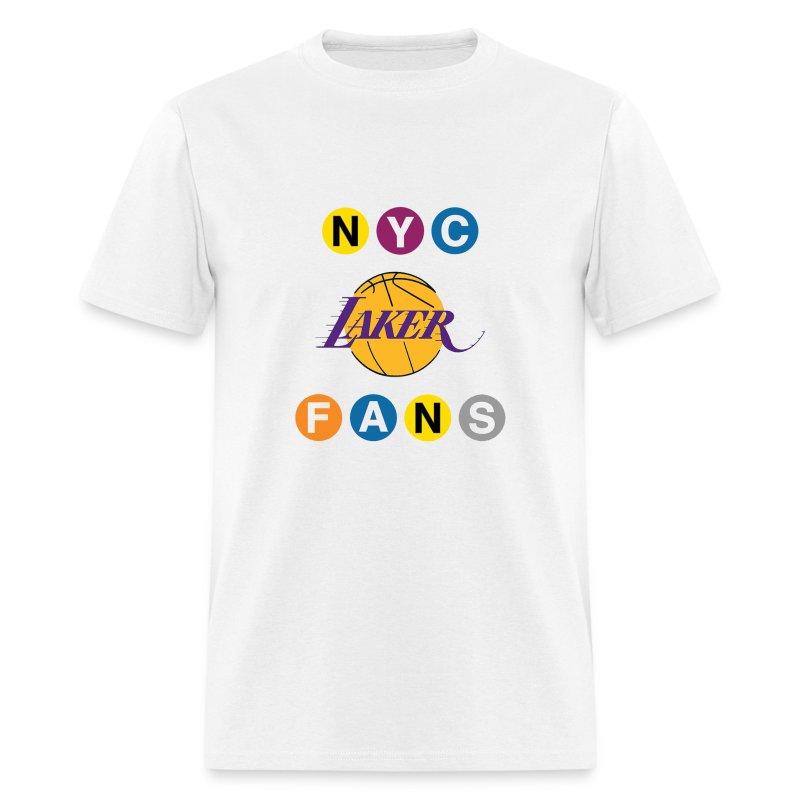 mens subway white tshirt - Men's T-Shirt